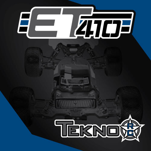 TKR7200 - ET410 1/10th 4WD Competition Electric Truggy Kit